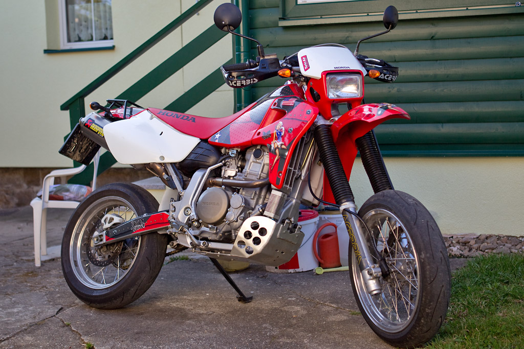 Another problem, too little oil in gearbox ... after rebuilt Xr650